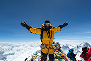 2012 Everest summit by Jamie