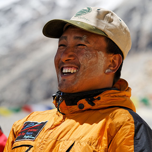 Namgyal Sherpa, multiple Everest summiter