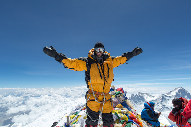 Tom kowpak summits Everest