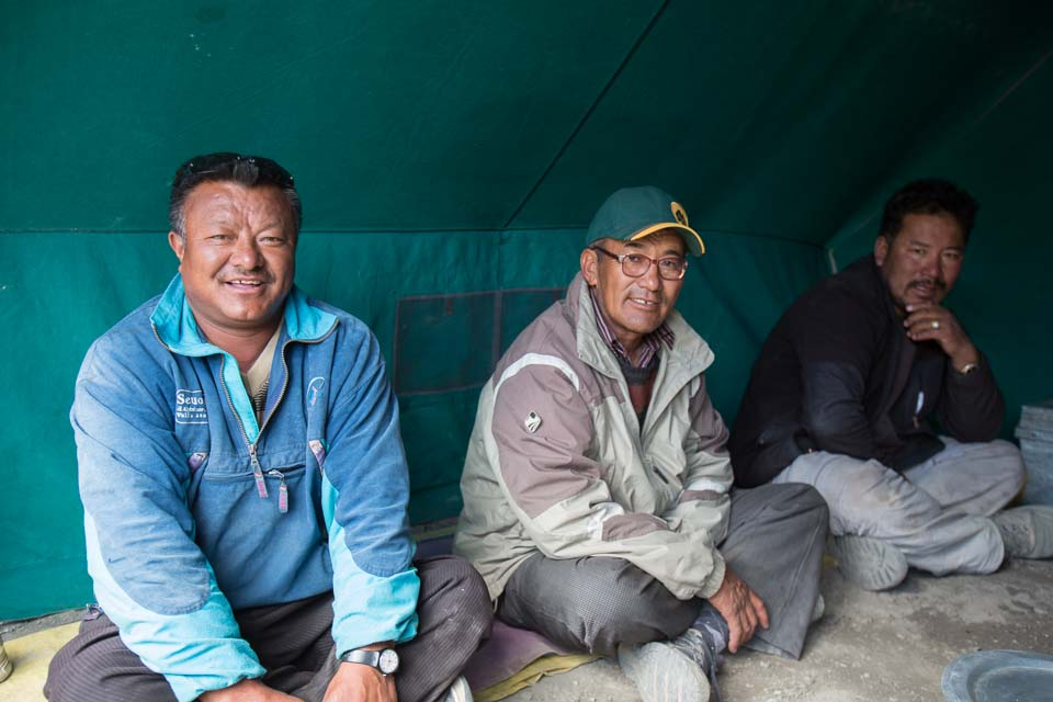 Pasang, Angchuk and Lobsang, 2013
