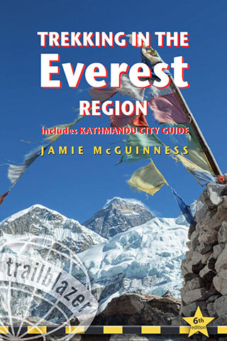 Jamie wrote Trekking in the Everest Region, 6th edition 2018