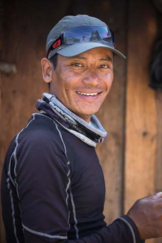 Bire Tamang trek guide and cook