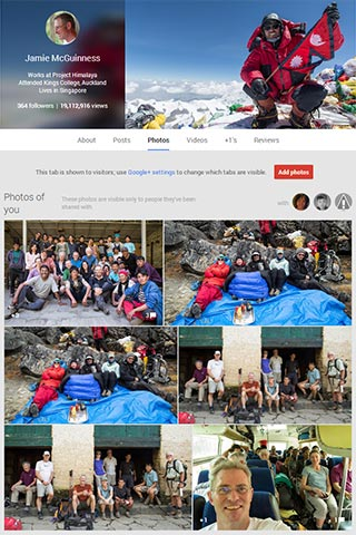 Jamie's Google+ photo albums - explore them!